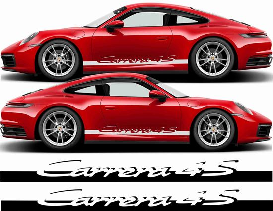 Picture of Porsche 992 4S  side Stripes / Stickers