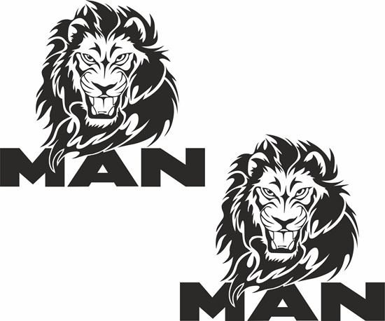 Picture of MAN general panel Decals / Stickers