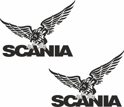 "Picture of ""Scania""  general Panel Decals / Sticker"