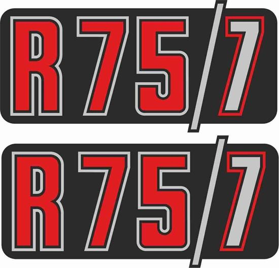 Picture of BMW R 75/7  Replacement side panel Decals / Stickers
