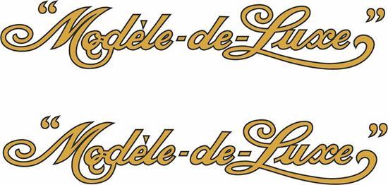 Picture of BSA Modele-de-Luxe Decals / Stickers