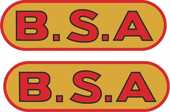 Picture of B.S.A . Decals / Stickers