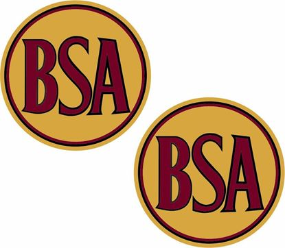 Picture of BSA . Decals / Stickers