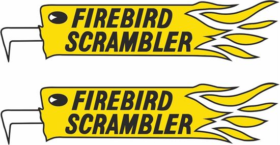 Picture of BSA Firebird Scrambler Decals / Stickers