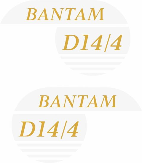 Picture of B.S.A . Bantam D14/4 replacement Decals / Stickers