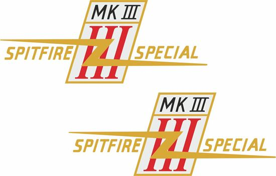 Picture of BSA Spitfire Special MKIII  Decals / Stickers