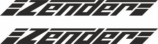 "Picture of ""Zender"" general panel  Decals / Stickers"