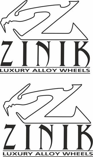 "Picture of ""Zink"" general panel  Decals / Stickersi"
