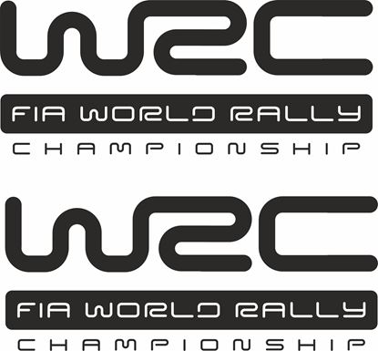 """Picture of """"WRC FIA World Rally.. Decals / Stickers"""