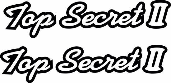 "Picture of ""Top Secret II"" Decals / Stickers"