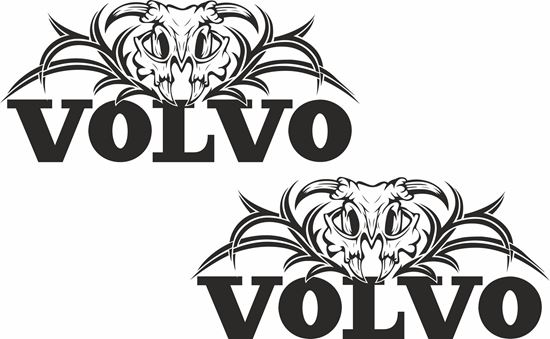 Picture of Volvo Panel / Glass  Decals / Stickers