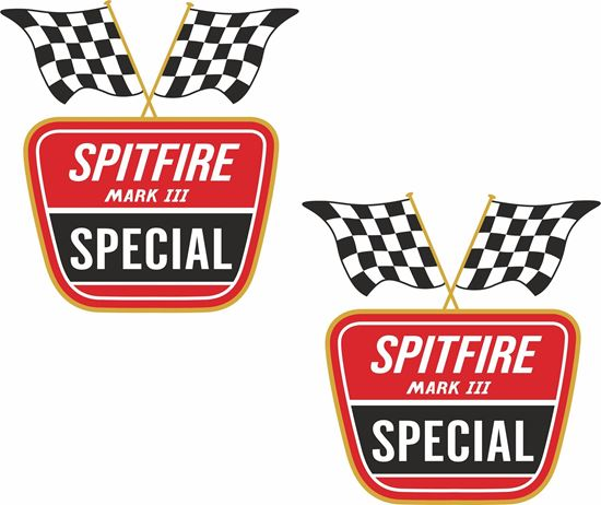 Picture of Spitfire MK III Special Decals / Stickers