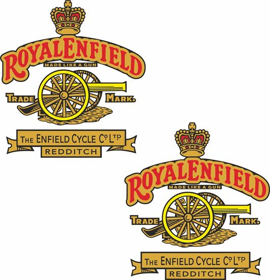Picture of Royal Enfield Cycle Co Ltd Decals / Stickers