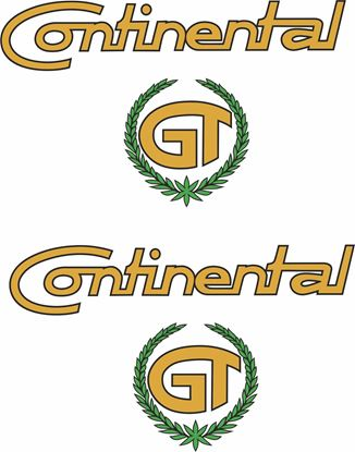Picture of Royal Enfield Continental GT Decals / Stickers