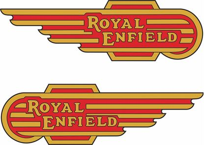 Picture of Royal Enfield Fuel Tank Decals / Stickers