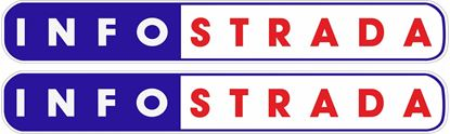 "Picture of ""Info strada"" Decals / Stickers"