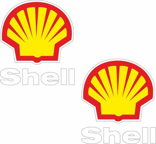 """Picture of """"Shell"""" Decals / Stickers"""