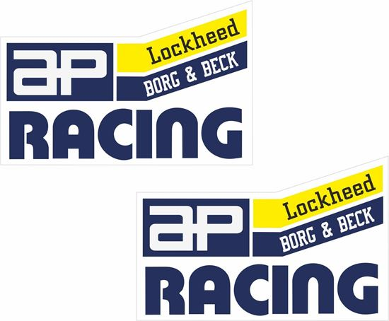 "Picture of ""AP Racing"" Decals / Stickers"