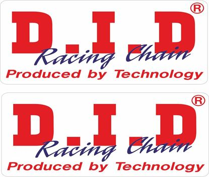 "Picture of ""D.I.D Racing Chains"" Decals / Stickers"