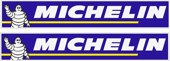 """Picture of """"Michelin"""" Decals / Stickers"""