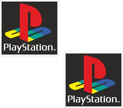 "Picture of ""PlayStation"" Decals / Stickers"