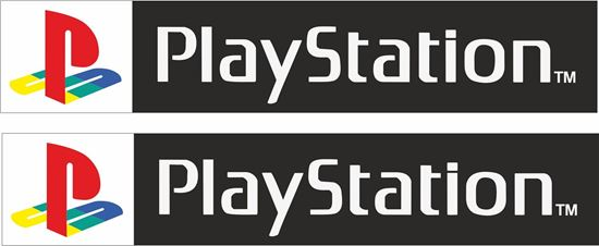 """Picture of """"PlayStation"""" Decals / Sticker"""