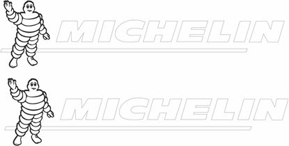 "Picture of ""Michelin"" Decals / Stickers -"
