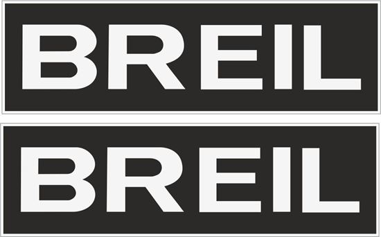 """Picture of """"Breil"""" Decals / Stickers"""