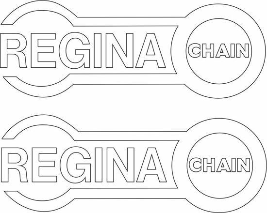 "Picture of ""Regina Chain"" Decals / Stickers"