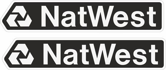 """Picture of """"NatWest"""" Decals / Stickers"""