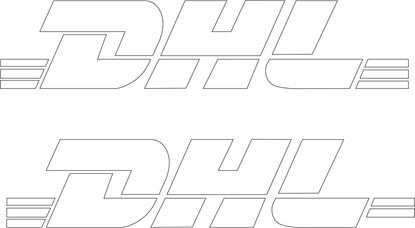"Picture of ""DHL"" Decals / Stickers"