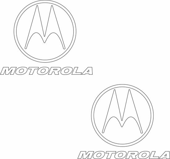 "Picture of ""Motorola"" Decals / Stickers"
