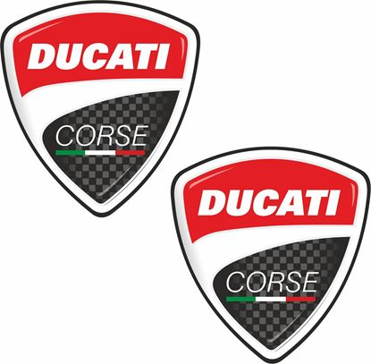 Picture of Ducat Corse Shield Decals / Stickers