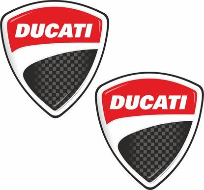 "Picture of ""Ducati shield Decals / Stickers"