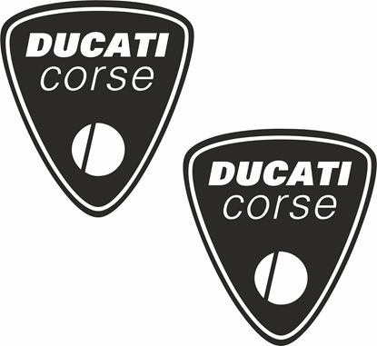 Picture of Ducati Corse Shield Decals / Stickers