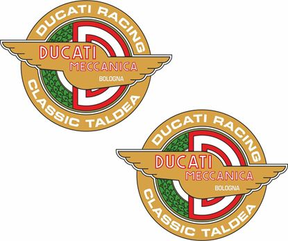 "Picture of ""Ducati Racing Classic Taldea"" Decals / Stickers"