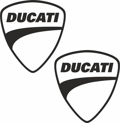 Picture of Ducati Shield Decals / Stickers