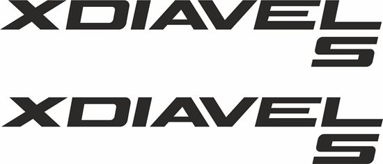 Picture of Ducati Xdiavle S Panel  Decals / Stickers