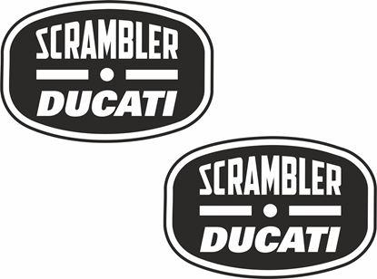 Picture of Ducati Scrambler Decals / Stickers