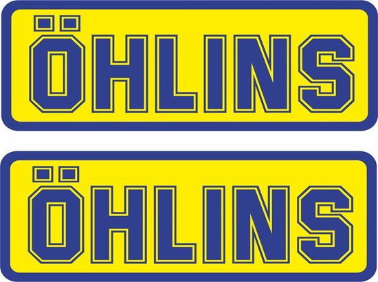 """Picture of """"Ohlins"""" Decals / Stickers"""