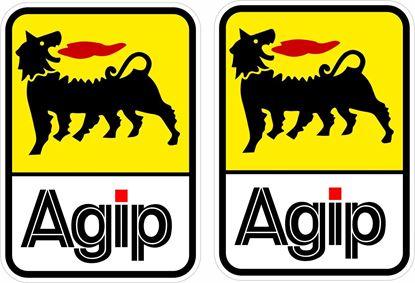 "Picture of ""Agip"" Decals / Stickers"