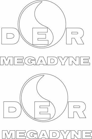"Picture of ""DER Megadyne"" Decals / Stickers"
