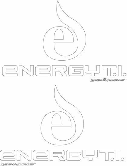 "Picture of ""Energyt.i. Gas and Power"" Decals / Stickers"