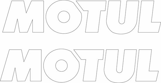 "Picture of ""Motul"" Decals / Stickers"
