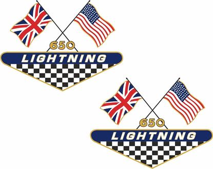 Picture of BSA  650 Lightning Decals / Stickers