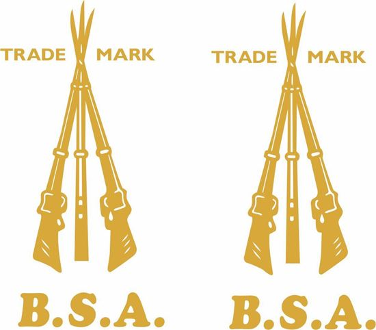 Picture of B.S.A. Decals  / Stickers