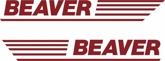 Picture of BSA Beaver side panel restoration Decals / Stickers