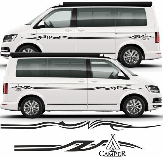 VW TRANSPORTER T4 T5 VAN GRAPHICS STICKERS DECALS STRIPES VOLKSWAGEN SURF DC TDI