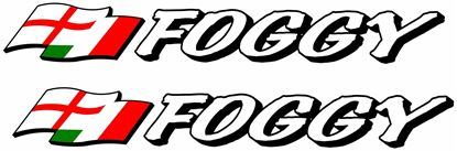"""Picture of """"Foggy""""  Decals /Stickers"""