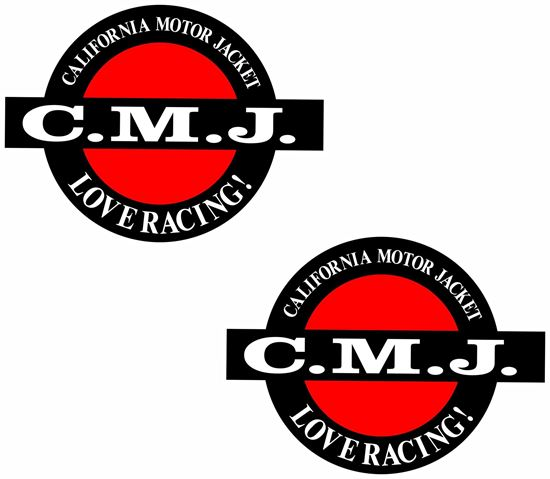 "Picture of ""C.M.J."" Decals / Stickers"